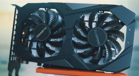 Gigabyte GeForce GTX 1650 4Gb OC graphics card