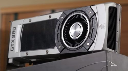 Nvidia geforce GTX 980 2Gb graphics card