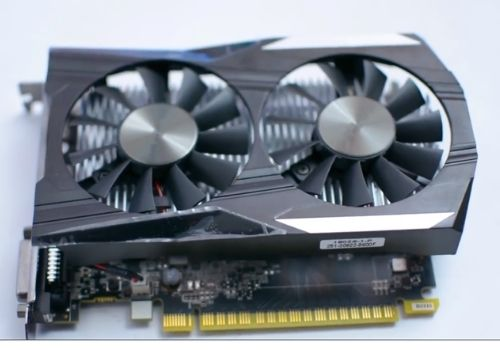 Asus GTX 1050 ti 4GB graphics card