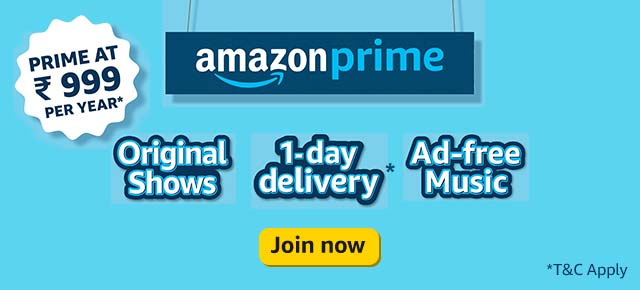 Amazon prime advertisement