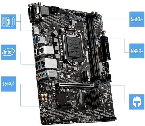 MSI H410 Pro motherboard