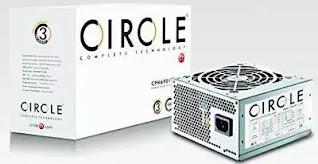 Circle 400 watt SMPS