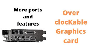 Other Features of the Graphics card