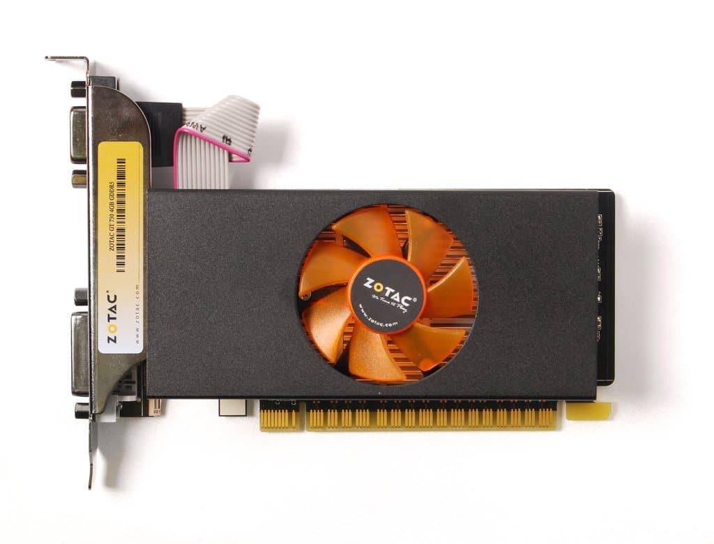 Zotac gt 730 graphics card