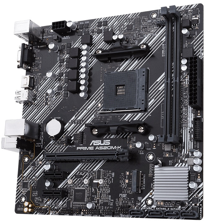 Asus A520M motherboard