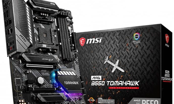 MSI B550 Tomhawk motherboard