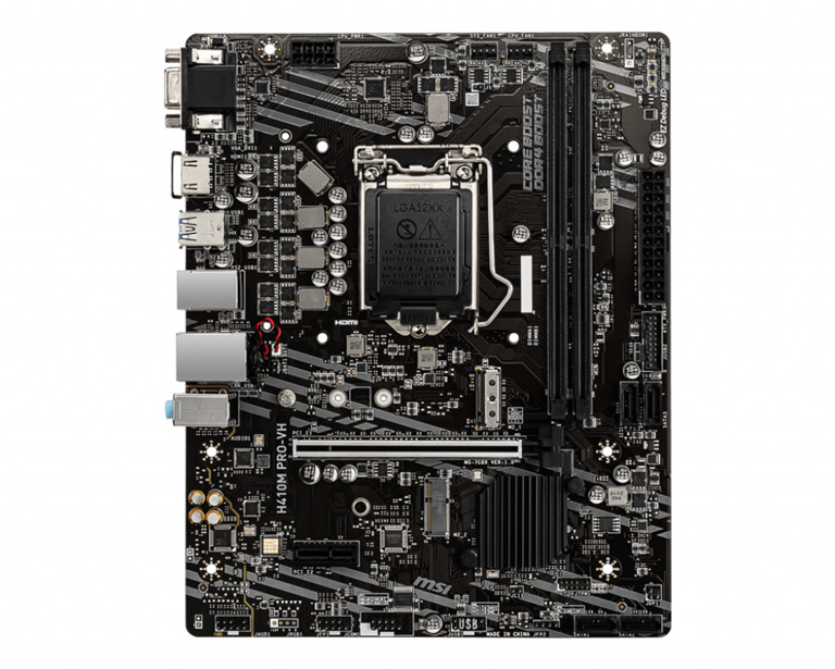 MSI H410M PRO-VH motherboard